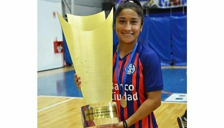 Futsal: la misionera Cecilia López gritó campeón con San Lorenzo