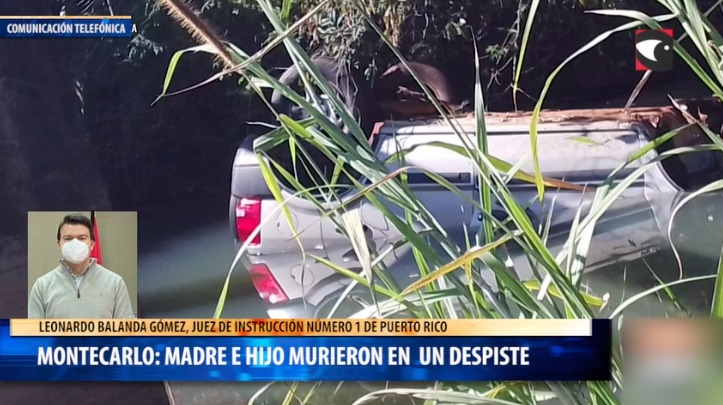 Montecarlo madre e hijo murieron en un despiste