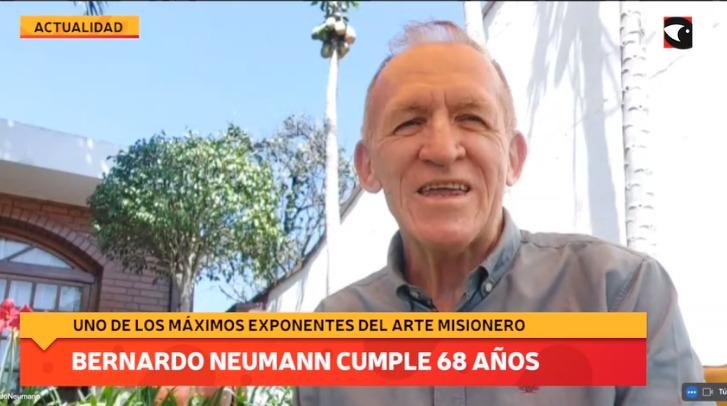 Bernardo Neumann cumple 68 años