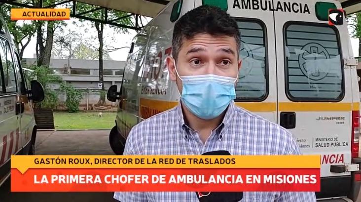 La primera chofer de ambulancia en Misiones
