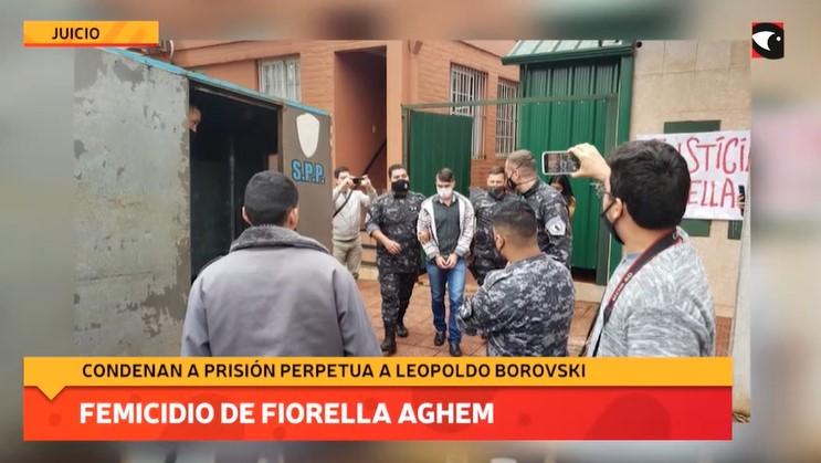 Femicidio de Fiorella Aghem: condenaron a prisión perpetua a Leopoldo Borovski