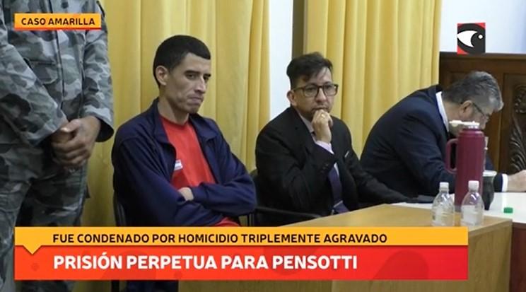 Asesinato del taxista Amarilla: Fernando Pensotti fue condenado a prisión perpetua por homicidio triplemente agravado