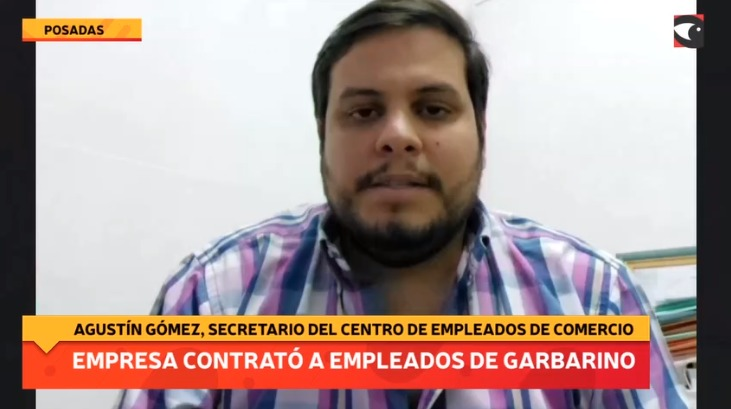 Empresa contrató a trabajadores de Garbarino
